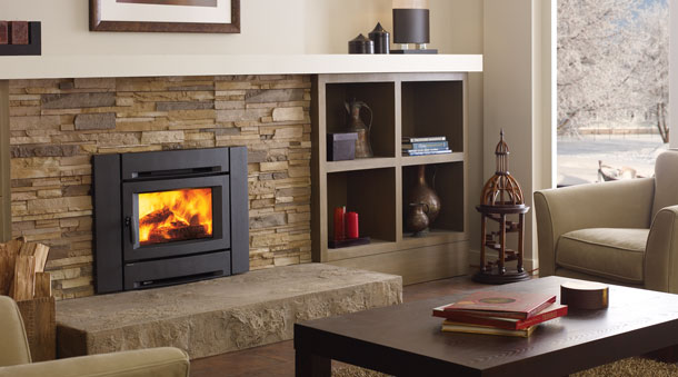 Regency alterra ci1250 small wood insert joe 39 s for Contemporary fireplace insert